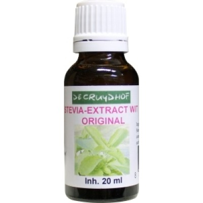 De Cruydhof Stevia-Extract Wit 20 ml