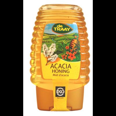 De Traay Acacia Honing Biologisch (knijpfles)