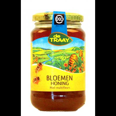 De Traay Bloemen Honing Biologisch 450 gram