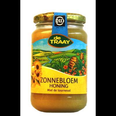 De Traay Zonnebloem Honing Biologisch 450 gram