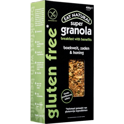 Eat Natural Granola Boekweit, Zaden & Honing