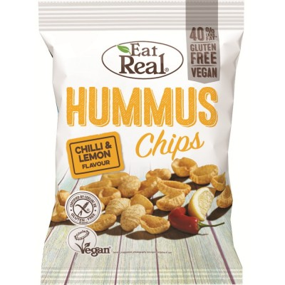 Eat Real Hummus Chips Chilli & Lemon