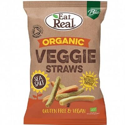 Eat Real Biologische Veggie Straws