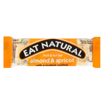 Eat Natural Almond & Apricot With A Yoghurt Coating Bar