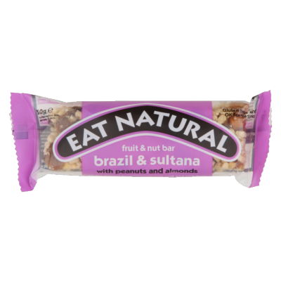 Eat Natural Brazil & Sultana With Peanuts And Almonds Bar