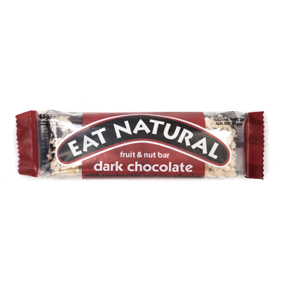 Eat Natural Dark Chocolate With Cranberries And Macadamias Bar