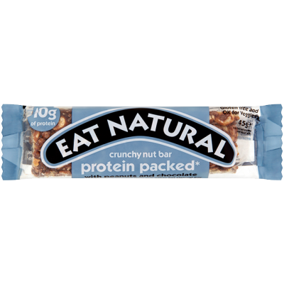 Eat Natural Protein Packed With Peanuts And Chocolate Bar