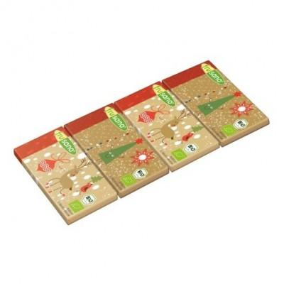 Frusano Chocolade Minireepjes Kerst Lactosevrij