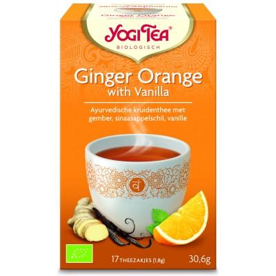 Yogi Tea Ginger Orange With Vanilla