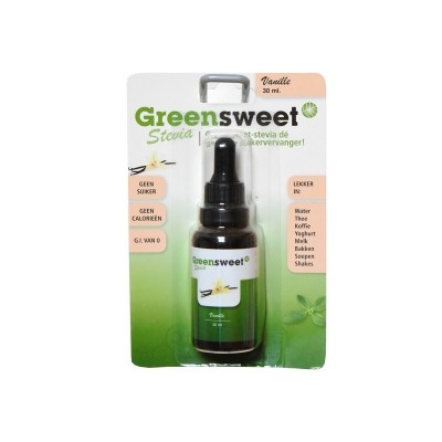 Greensweet Vloeibare Stevia Vanille 30 ml