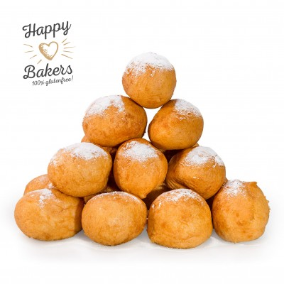 Happy Bakers Oliebollen Naturel Lactosevrij
