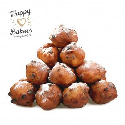 Happy Bakers Oliebollen Met Rozijnen Lactosevrij