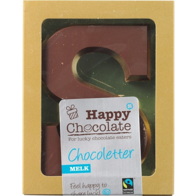Happy Chocolate Chocoletter Melk