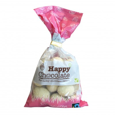 Happy Chocolate Paaseitjes Wit