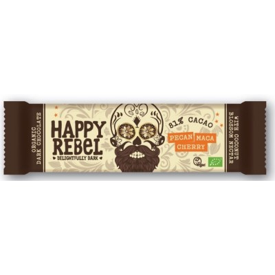 Happy Rebel Dark Chocolate Pecan Maca Cherry