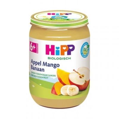 HiPP Appel Mango Banaan 6+ Maanden
