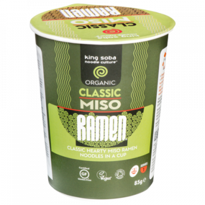 King Soba Miso Ramen Classic (cup)