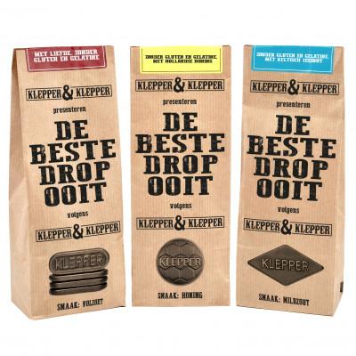 Klepper & Klepper Drop Proefpakket (3 soorten)