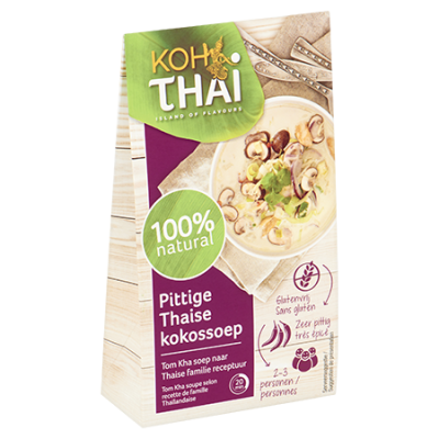 Koh Thai Pittige Thaise Kokossoep (Tom Kha)