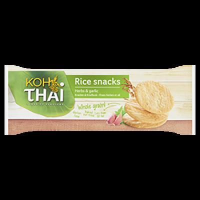 Koh Thai Volkoren Rijstkoekje Kruiden & Knoflook