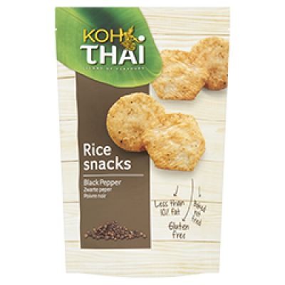 Koh Thai Rijstsnacks Black Pepper