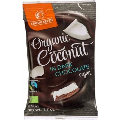Landgarten Coconut In Dark Chocolate