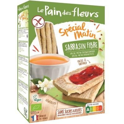 Le Pain des Fleurs Special Matin Boekweit Crackers