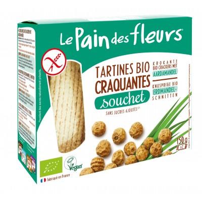 Le Pain des Fleurs Aardamandel Crackers