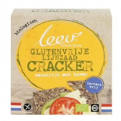 Leev Lijnzaad Cracker Vezelrijk Met Haver