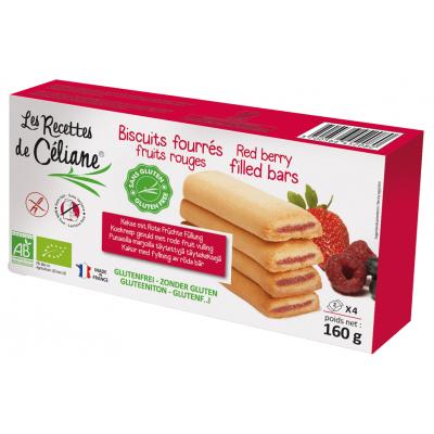 Les Recettes de Céliane Biscuitrepen Met Rood Fruit
