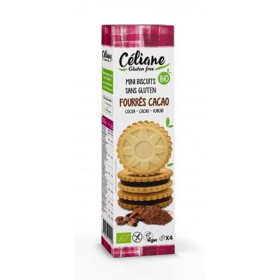 Les Recettes de Céliane Mini Biscuits Met Cacaovulling