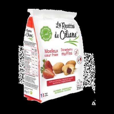 Les Recettes de Céliane Aardbeien Muffins