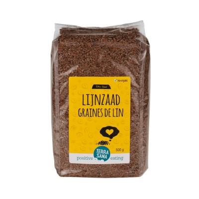 Terrasana Lijnzaad Heel 500 gram
