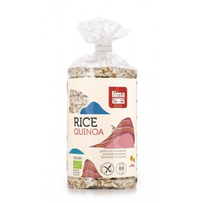 Lima Rijstwafels Rond Met Quinoa