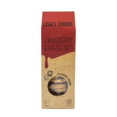 Lisa's Choice Cranberry & Hazelnut Koekjes
