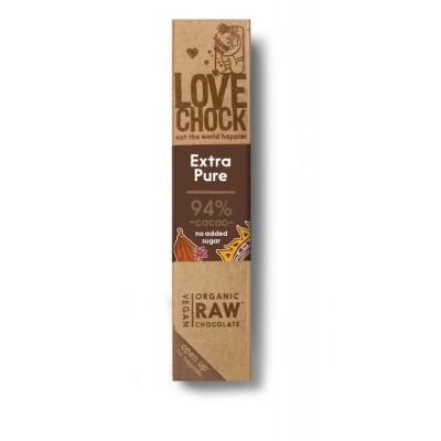 Lovechock Chocoladereep Extra Pure