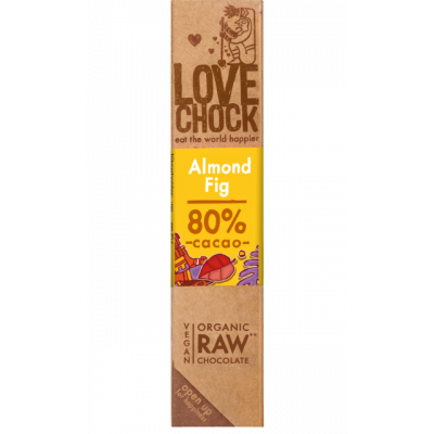 Lovechock Chocoladereep Almond/Fig