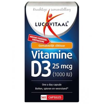 Lucovitaal Vitamine D3 365 Capsules