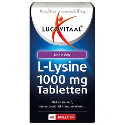 Lucovitaal L-Lysine 1000 mg Tabletten
