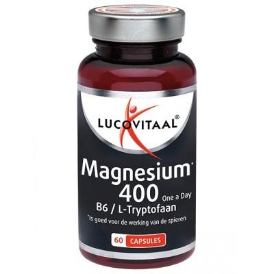 Lucovitaal Magnesium 400 B6/L-Tryoptofaan