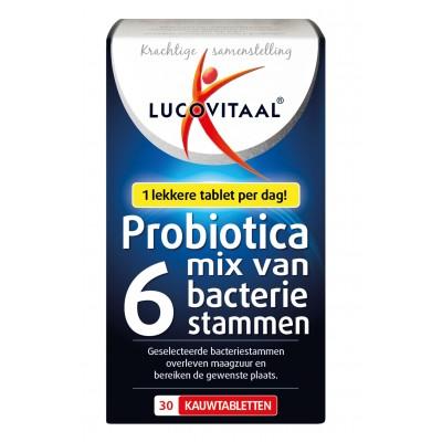 Lucovitaal Probiotica Mix Van 6 Bacterie Stammen