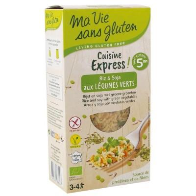 Ma Vie Sans Gluten Cuisine Express Rijst & Soja Met Groene Groenten