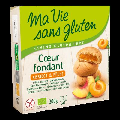 Ma Vie Sans Gluten Gevulde Koekjes Abrikoos Perzik