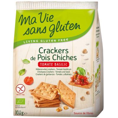 Ma Vie Sans Gluten Kikkererwten Crackers Tomaat Basilicum