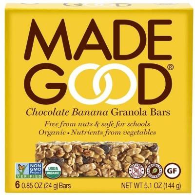 Made Good Granola Bars Chocolate Banana