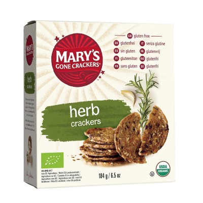 Mary's Gone Crackers Crackers Kruiden