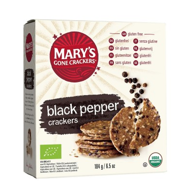Mary's Gone Crackers Crackers Zwarte Peper