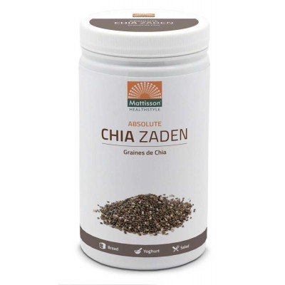 Mattisson Absolute Chia Zaad Raw 500 gram