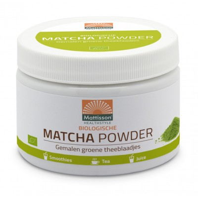 Mattisson Absolute Matcha Poeder 125 gram