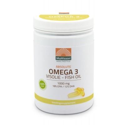 Mattisson Absolute Omega 3 Visolie 600 Capsules